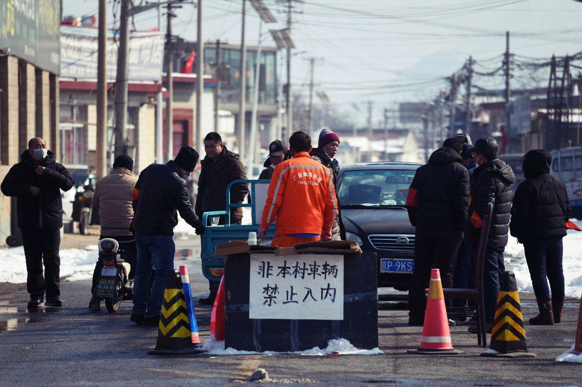 圖為北京近郊的九渡河鎮。 圖/法新社