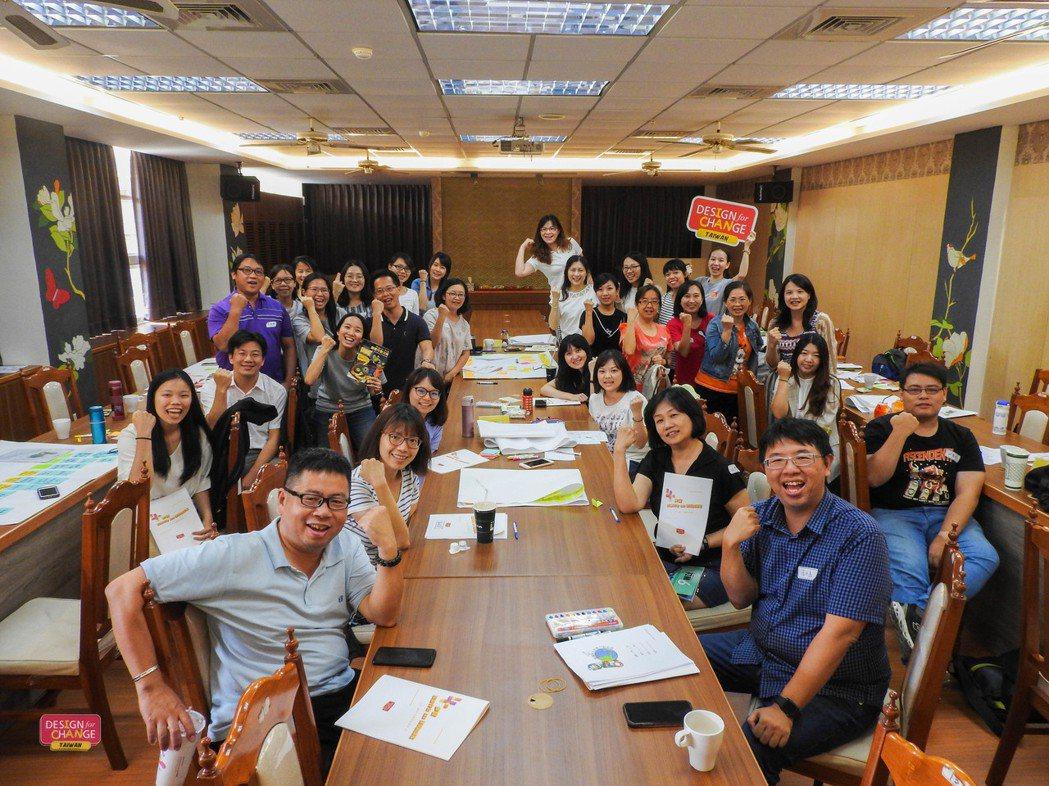 「大推手分享會」由資深教師分享將DFC導入課程的心得經驗,支持其他老師跨過初入門...