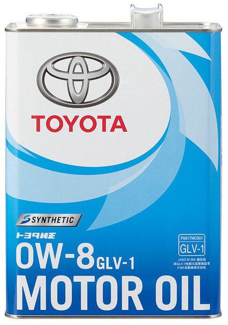 Toyota推出最低黏度機油!GLV-1 0W-8日本正式上市