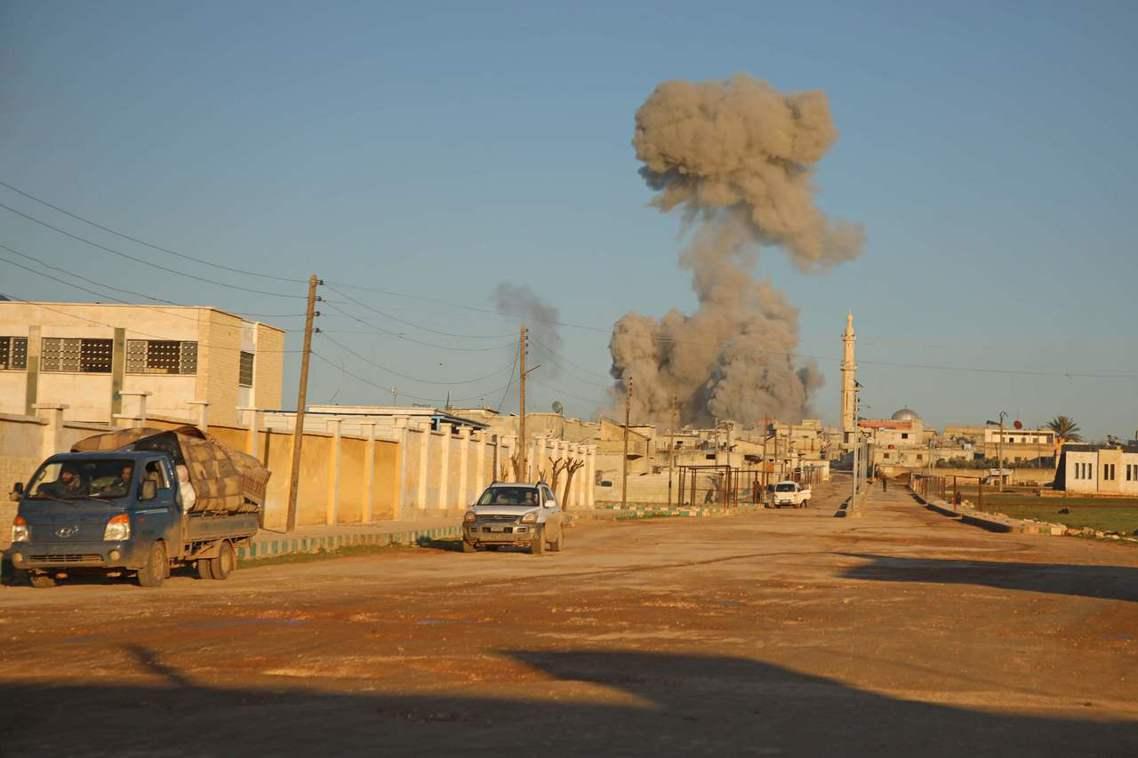 土耳其國防部表示,10日的砲擊事件,發生在易德利卜省東側、距離土耳其邊境30公里...