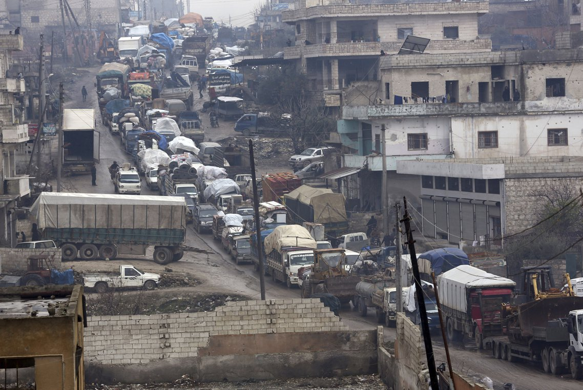 由於當前易德利卜的局勢還牽扯到上百萬的邊境難民問題,牽扯的人道、經濟與國安危機,...