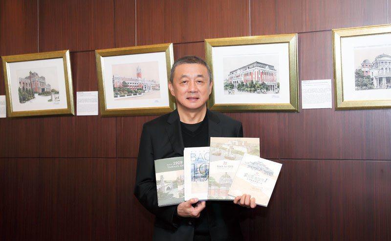 力麗社會福利慈善事業基金會董事長郭銓慶。 攝影/徐裕庭