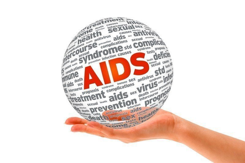 愛滋病示意圖。 圖/ingimage