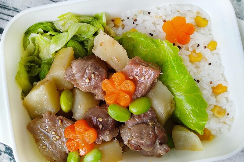 【食譜】和風馬鈴薯燒肉。暖心家常便當菜
