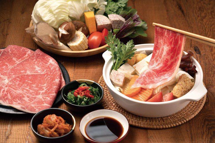 王品推出「和牛涮」吃到飽餐廳。圖/取自和牛涮日式鍋物放題粉絲頁
