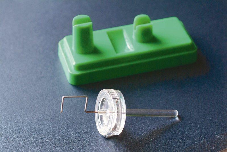 勞力士獨有的Micro-Stella微調器可調校時間到每日1秒的準度。 圖/曾士昕提供