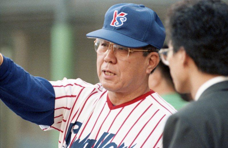 日本傳奇名宿野村克也今天驚傳過世,享受84歲。 聯合報系資料照