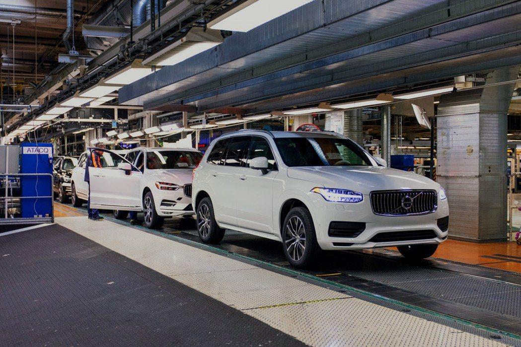 Volvo去年全球累積銷售達到705,452輛。 摘自Volvo