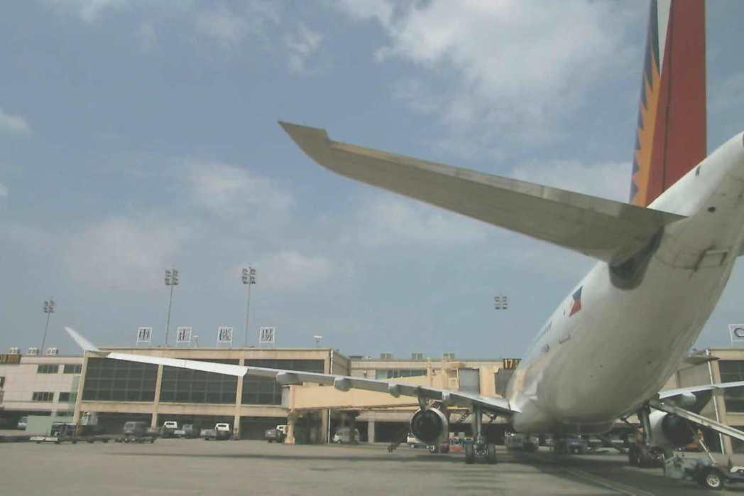1999年,菲律賓片面中止中菲航線。 圖/聯合報系資料照片