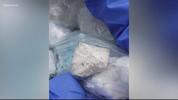 聯邦緝毒署提醒民眾,一款綽號「灰色死亡」的毒品正在對人類社會造成極大威脅,藥性比嗎啡強1萬倍。(KHOU電視台截圖)