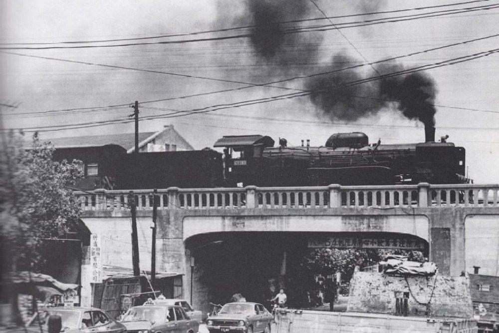 1973年的壽陸橋。 圖/藏重信隆攝