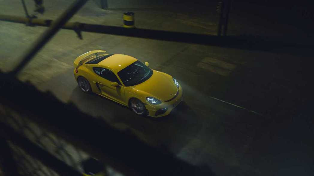 Porsche 718 Cayman GT4。 摘自Porsche