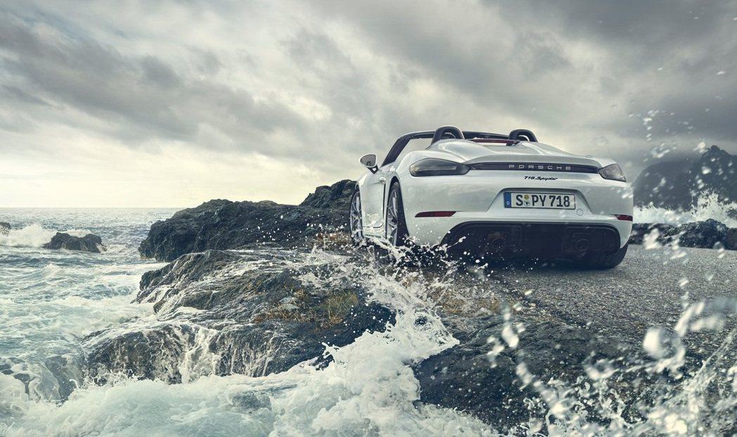 Porsche 718 Spyder。 摘自Porsche