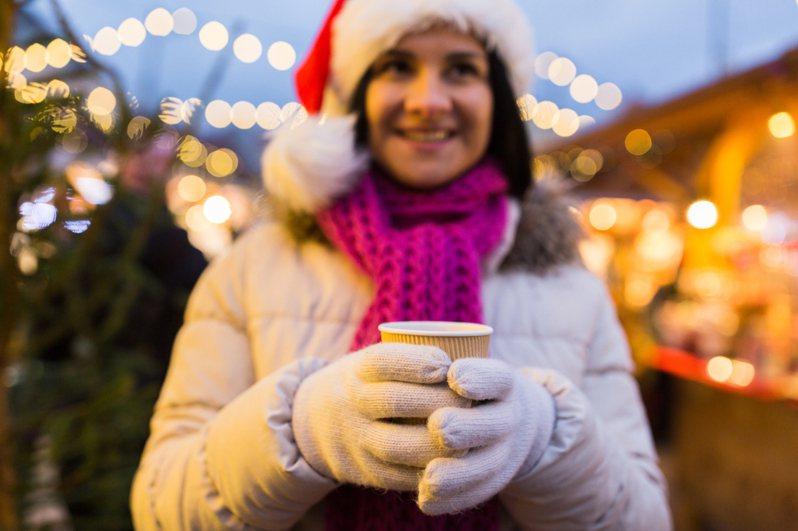 天氣冷的的時候,來一杯熱可可溫暖身心。圖片來源/ingimage