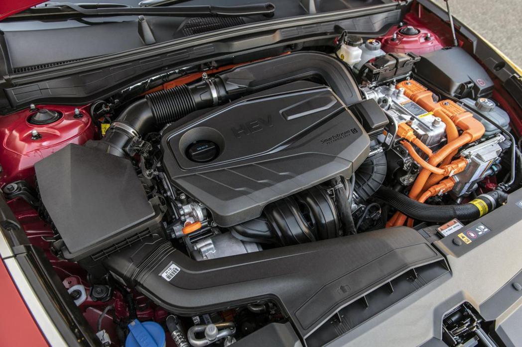 新世代Hyundai Sonata Hybrid綜效馬力達192hp。 摘自Hy...