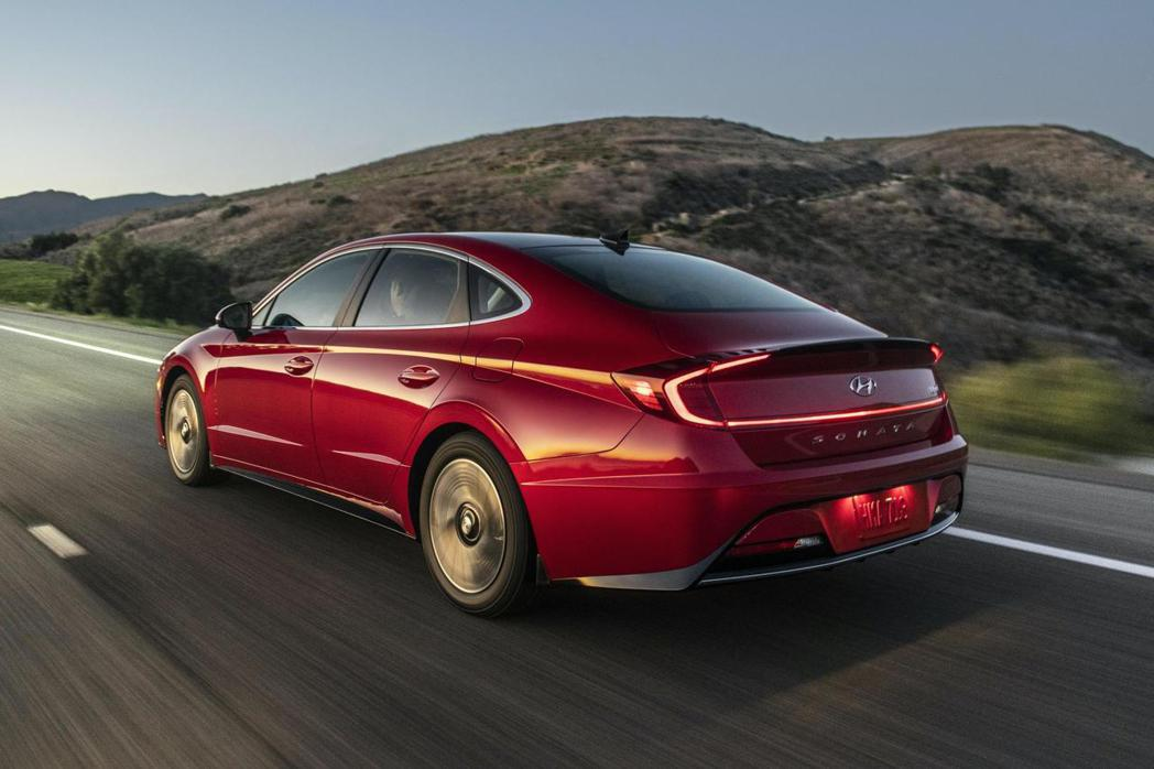 新世代美規Hyundai Sonata Hybrid。 摘自Hyundai