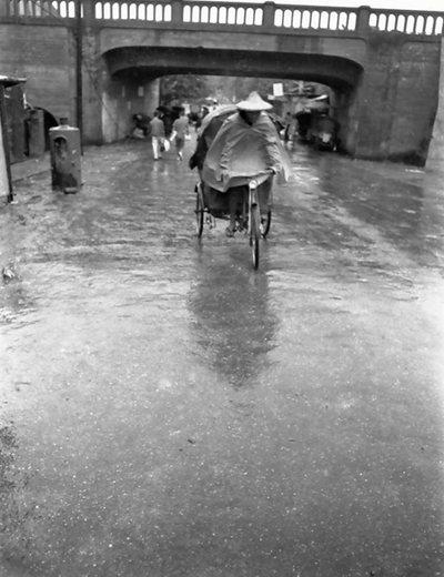1962年的壽陸橋。  圖/王双全攝