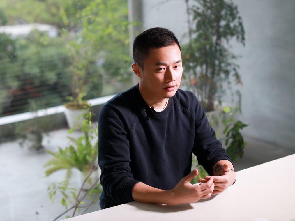 聶永真是華語世界具有指標性意義的平面設計師。 圖/吳致碩拍攝