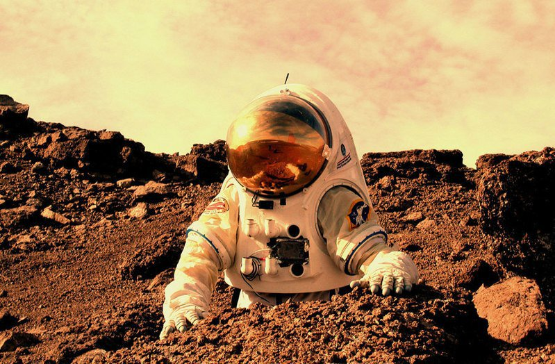 NASA近日發布太空計畫內容,將有機會首次從火星將樣本帶回地球研究。(Photo on Wikipedia)