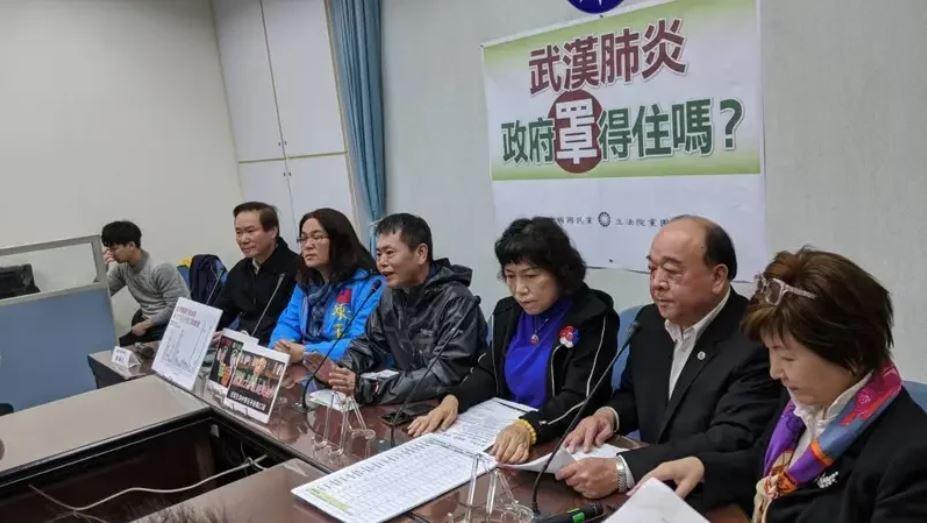 台灣在野黨的國民黨團。圖/聯合報系資料照片