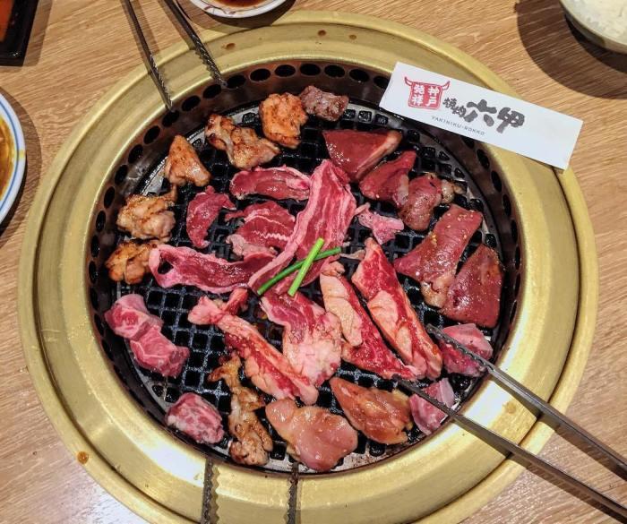 心齋橋—六甲燒肉。 圖/IG, 471lily