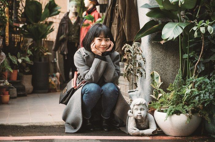 Meg Lu是新世代美妝穿搭的影響力人物之一。(攝影∕林軒朗)