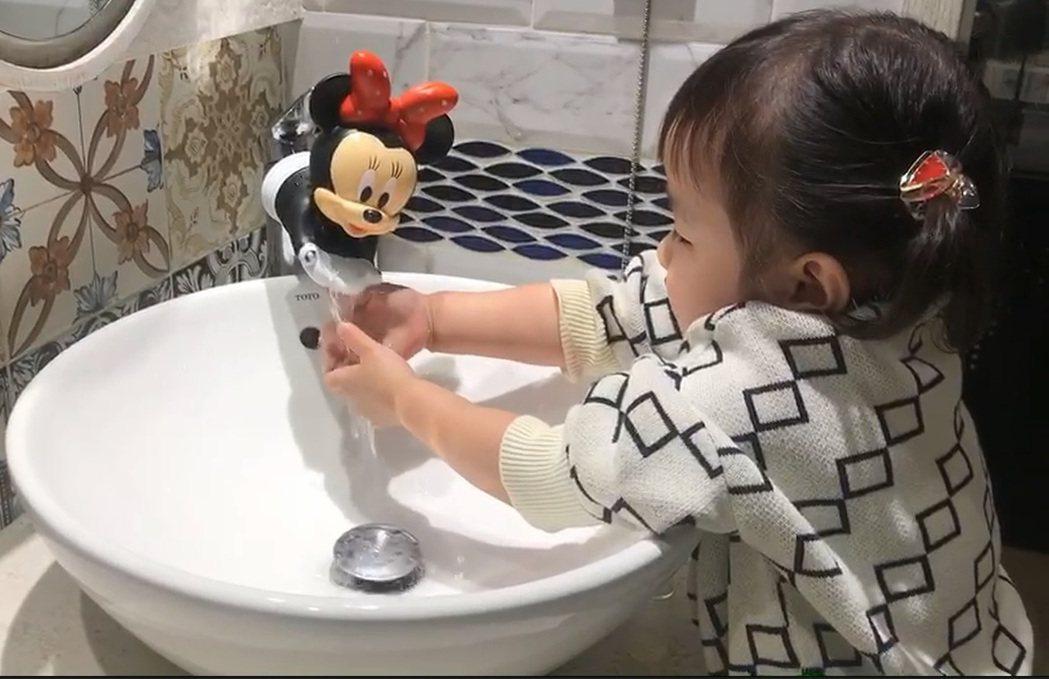 做好嬰幼兒防疫,醫師建議應教導幼兒勤洗手。圖/茂盛醫院提供