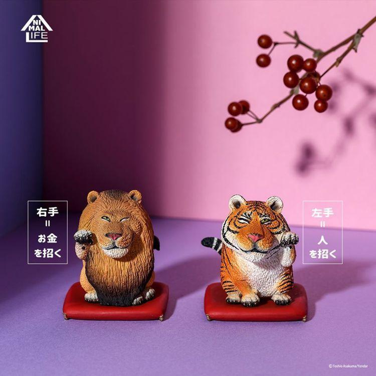 Animal Life的招財野生大貓,2隻一組含坐墊490元。圖/摘自研達YEN...