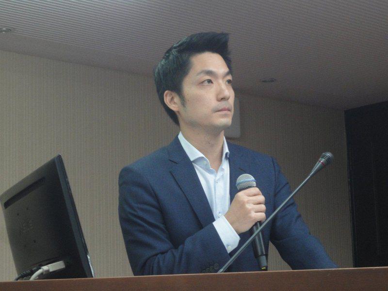 國民黨立院黨團書記長蔣萬安。本報資料照片