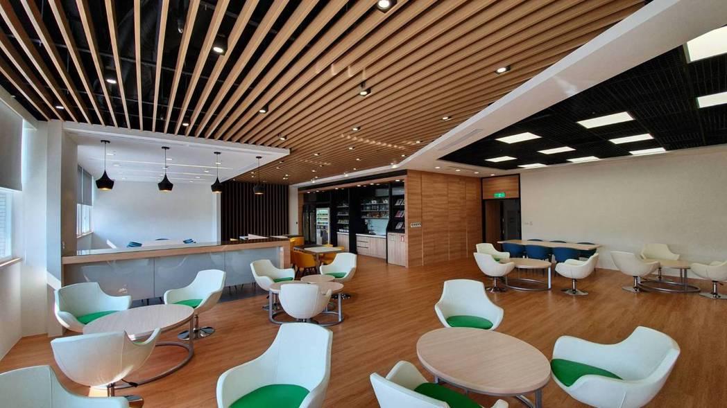 台北醫學大學首創大學之先,比照Google總部Lounge bar規格,打造「幸...