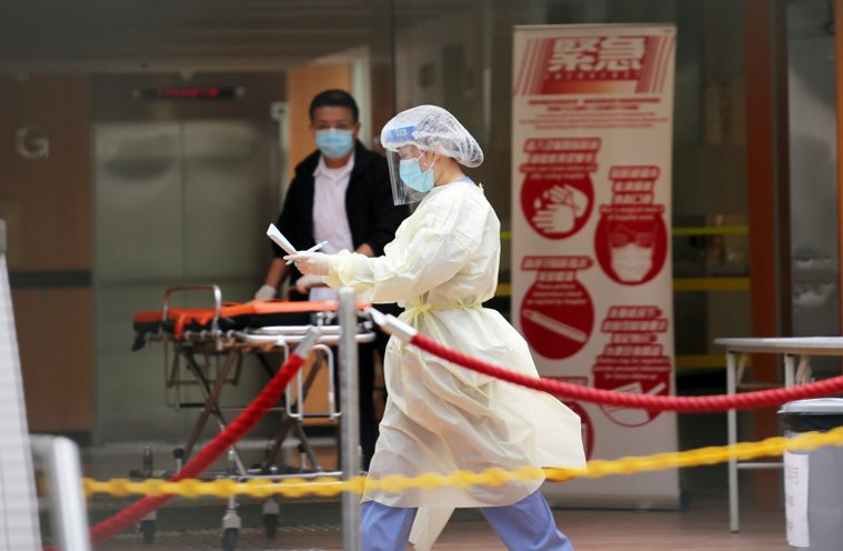 武漢肺炎持續延燒。本報資料照片