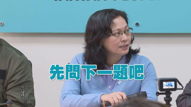 台灣民眾黨立院黨團總召賴香伶被媒體問到,菲國向我國祭出的「旅遊禁令」一事,第一時間是回答「先問下一題,我們需要再討論」。記者顏凱勗/攝影