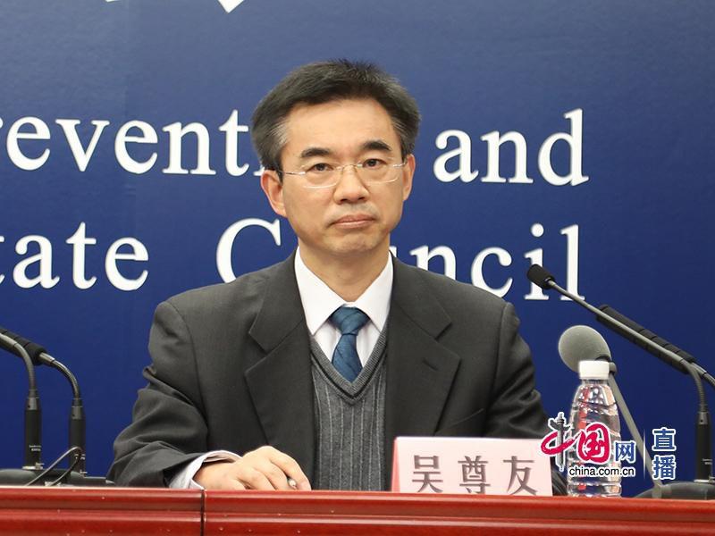 中國疾控中心流行病學首席專家吳尊友。圖/中國網直播