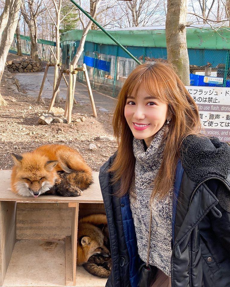 Apple造訪狐狸村。圖/摘自臉書