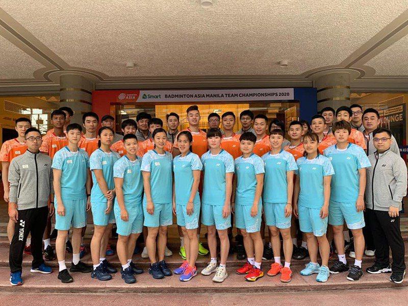 中華隊抵達菲律賓馬尼拉拚戰2020亞洲羽球團體錦標賽。圖/取自中華羽協臉書