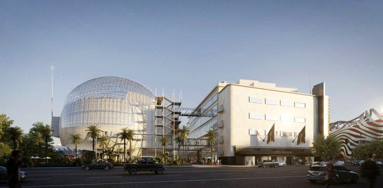 即將於2020年落成、位於洛杉磯的「奧斯卡電影博物館(Academy Museu...