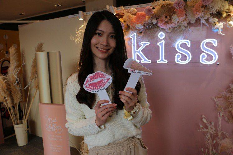 日本戀愛系底妝品牌kiss即日起至3月15日在誠品南西店1樓舉辦「大女孩戀愛系k...