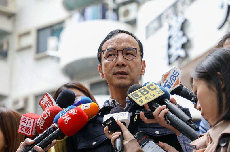 國民黨前主席朱立倫昨天表示,希望至少以「中華台北」的名稱回到世衛觀察員身分,讓台灣積極參與。 圖/朱立倫辦公室提供