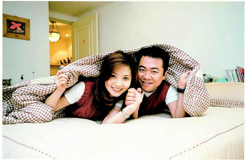 董至成和妻子羅若云確定離婚了。本報資料照