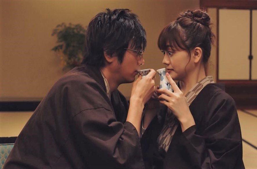 松井愛莉與速水茂虎道主演《這個男人是我人生中最大的錯誤》。圖/擷自官方IG