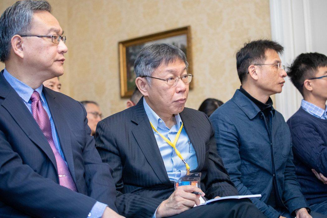 台北市長柯文哲訪問愛沙尼亞。圖/ 台北市政府提供 楊正海