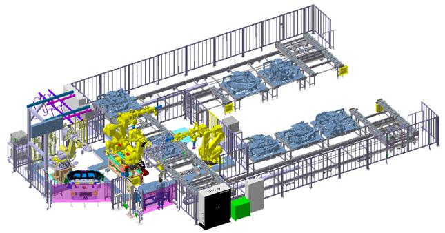 3D模擬圖。 中設/提供。