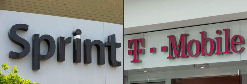 聯邦法官11日駁回13州和哥倫比亞特區檢察長的訴訟,為國內電信業規模第三和第四大的T-Mobile和Sprint合併案開路。(Getty Images)