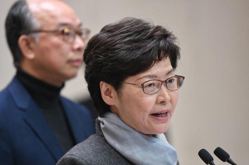 香港特區行政長官林鄭月娥。 中新社