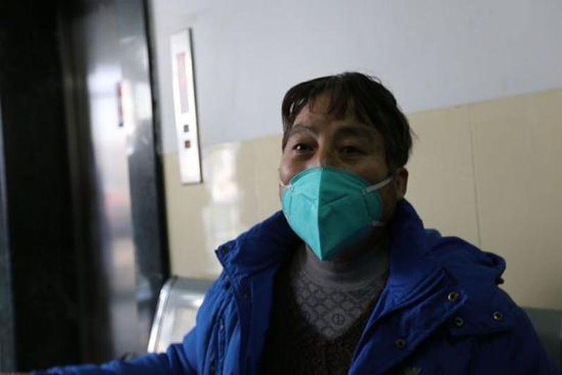 在武漢大學中南醫院治療21天後,吳先生康復出院。(取材自中國慈善家雜誌)
