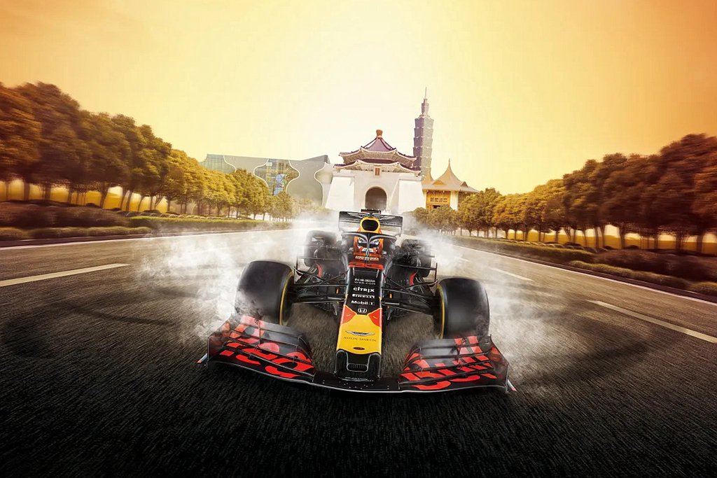 許多車迷期待的Red Bull Formula One Showrun台灣站,現...
