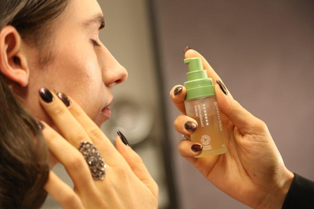 台灣純淨保養品牌「綠藤生機」再次登上國際舞台——紐約時裝週。 綠藤生機/提供