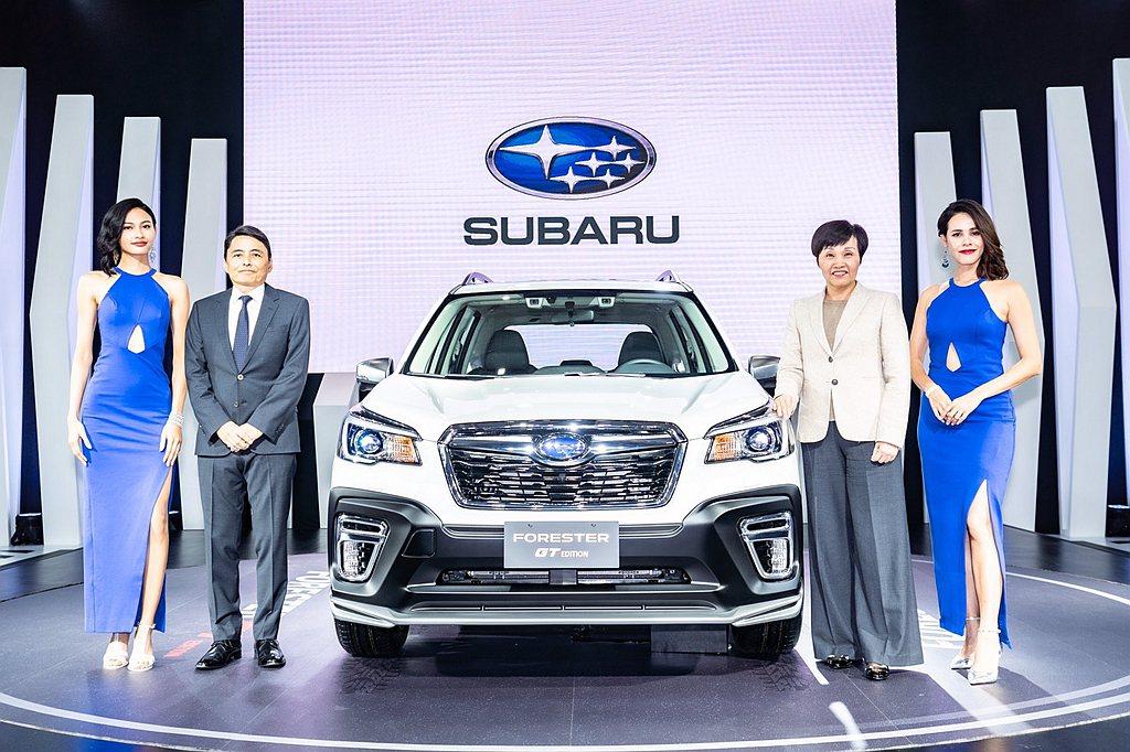 Subaru Forester GT Edition於去年底於台北車展搶先亮相後...