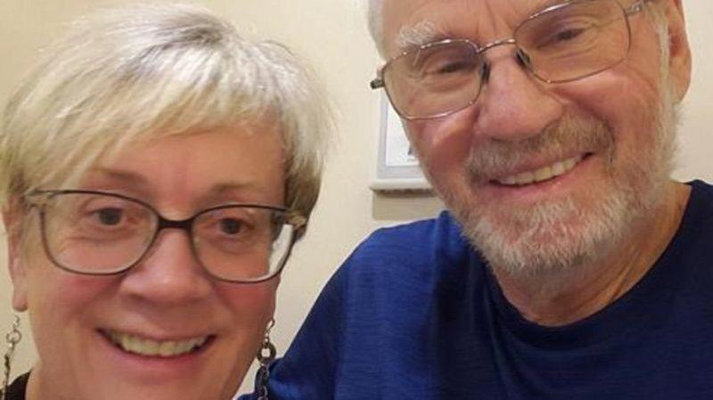 威斯納夫婦目前受困在鑽石公主號上,但兩人相當樂觀。圖擷自LethBridgeNews