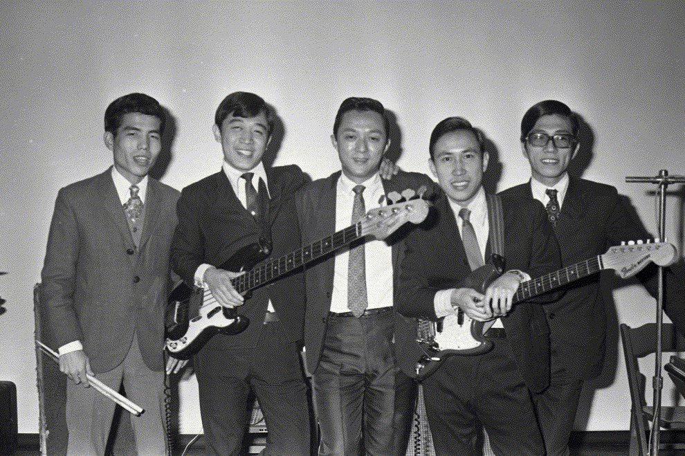雷鳥合唱團團員照。攝於1971年。 圖/聯合報系資料照